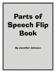 Parts Of Speech Flip Chart Parts Of Speech Flip Chart