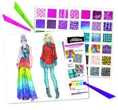 Fashion Angels Fashion Design Sketch Portfolio Printables Fashion Angels Project Runway Fashion Illustration Portfolio