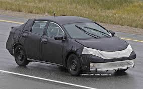 2014 Toyota Corolla Spied Again