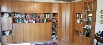 Wohnzimmerschränke sind das a und o eines schön eingerichteten wohnzimmers. Schrankwand Mit Klappbett Kleiderschrank Und G Markt De Kleinanzeige