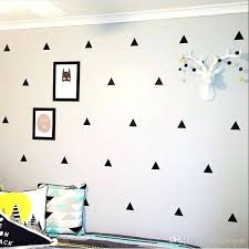 triangle wall decals as well as triangle wall stickers removable wall decals nursery decor wall art
