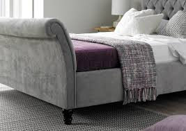 upholstered sleigh beds. Oxford Upholstered Sleigh Bed Beds