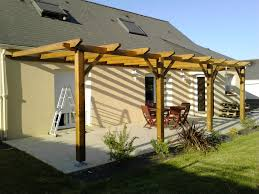 Construction D Une Pergola En Bois Instructions De Garden