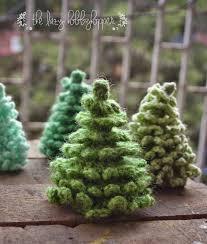 Free Crochet Christmas Tree Patterns Adorable The Lazy Hobbyhopper Crochet Christmas Tree Free Pattern