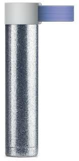 Купить Термобутылка asobu Skinny Glitter (<b>0</b>,<b>23 л</b>) blue по низкой ...