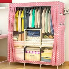 hot furniture wardrobe closet home storage diy non woven folding portable cabinet large jpg 640x640 at