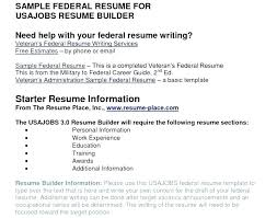 Usajobs Resume New Usajobs Resume Builder New Usajobs Resume Builder Lifespanlearnfo
