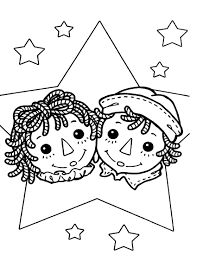 Raggedy Ann Coloring Pages | raggedy ann andy coloring page ... & Raggedy Ann Coloring Pages | raggedy ann andy coloring page Adamdwight.com