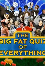 the big fat quiz of everything tv series imdb the big fat quiz of everything poster