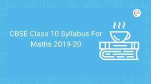 Cbse Class 10 Syllabus For Maths Pdf 2019 20 Detailed Cbse