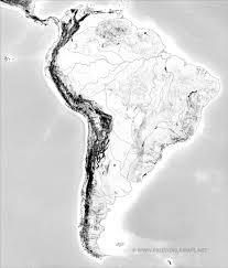 Latin America Outline Maps South America Physical Map Freeworldmaps Net