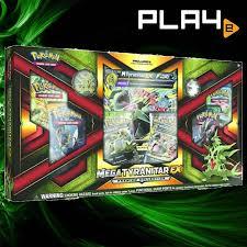 Pokemon Mega Tyranitar EX Box