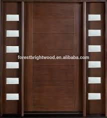 Solid Wood Front Door Designs America Solid Mahogany Villa Main Door With Grill Designs Buy Front Wooden Doors Product On Alibaba Com