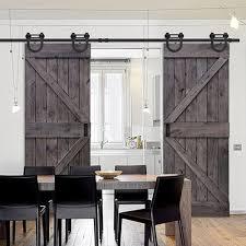 glasscraft model double z barn door