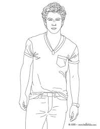 Small Picture Nick jonas coloring pages Hellokidscom
