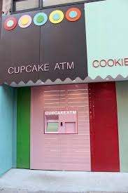 Cupcake Vending Machine Nyc Locations Delectable Sprinkles Cupcake ATM New York City York Avenue