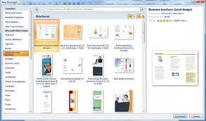 How Do You Make A Brochure On Microsoft Word 2007 Brochure Template For Word 2007 How To Make Brochures On