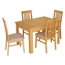 salou small extending dining table with 4 chairs next