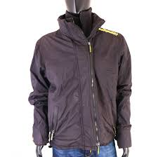 Superdry Windcheater Size Chart Details About S Superdry Mens Jacket Windcheater Black Size L