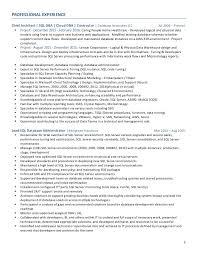 100 Sample Resume Sql Server Dba How Do You Write An