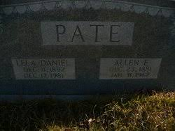 Lela Daniel Pate (1882-1981) - Find A Grave Memorial