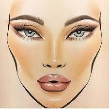 By Louisa_kim Mac Face Charts Makeup Face Charts Makeup
