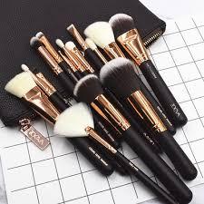 zoeva rose golden plete set vol 1 makeup brushes 15 pieces