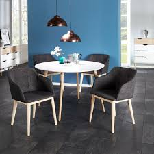 Esstisch Stavanger ø 110 Cm Rund Weiß Tisch Esszimmer