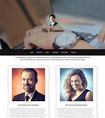 My Resume Com Unique Free HTML bootstrap template My Resume BootstrapTaste