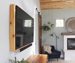 Television Frame Design How To Build A Tv Frame Domestic Imperfection