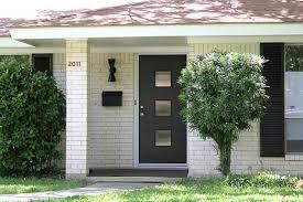 mid century modern front doorsCrestview Doors PeriodPerfect Front Doors for MidCentury Modern