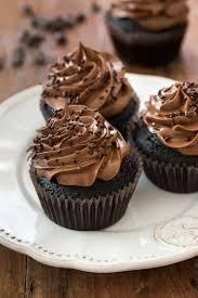 chocolate cupcakes with chocolate icing. Modren Chocolate Ultimate Chocolate Cupcakes On With Icing C
