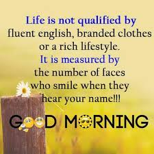Good Morning Quotes English