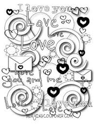 Small Picture Free Valentine Doodles from Doodle Art Alley Free Coloring Pages