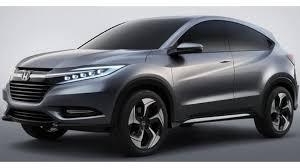 new car launches hondaNAIAS 2013 LEAKED  Say Hello To The Urban SUV Concept Hondas