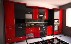 black and red kitchen designs. Plain Designs Red And Black Kitchen Cabinets Modern Kitchen To Black And Kitchen Designs K