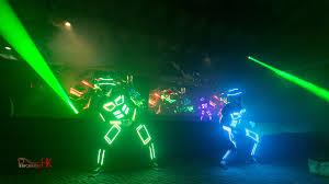 Tron Dance Lights Performers Hk Tron Dance