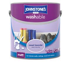 washable wall paintWashable Matt  Johnstones Paints