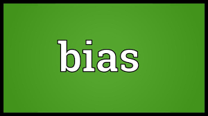 Bias Meaning - YouTube
