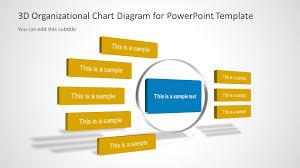 3d Organizational Chart For Powerpoint