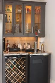 cus wine rack bar area with kegera and glass door liquor cabinets small bottle holder tal