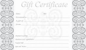 spa gift certificate template awesome personalized gift certificates template free template exles of spa gift certificate template amazing spa gift