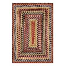 homespice decor cotton braided rugs biscotti 8 0 x 10 0 rectangular