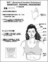 Eft Tapping Chart In Japanese Eft Taping Chart Japanese