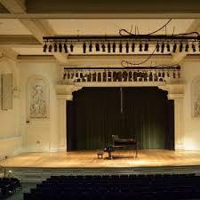 Our Concert Halls Peabody Institute