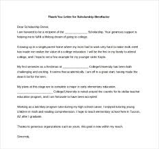 thank you note scholarship 9 thank you notes for scholarship free sample example format