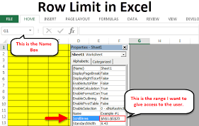 row limit in excel steps shortcut
