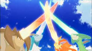 Movie's Torrents 720p | Quality Very Good | Subtittle English & Indonesian:  Pokemon The Movie Kyurem VS The Sword Of Justice (2013) Dubbing English
