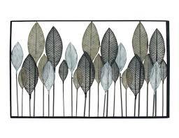 metal leaves wall decor 59 w x