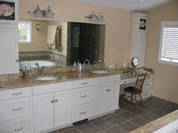 white bathroom cabinets with granite. White Bathrooms With Dark Granite Black Countertops Bathroom Cabinets T
